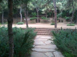 taiji practice place, beijing china